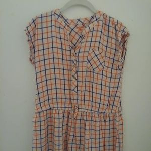 Cat & Jack Plaid Dress Size XL